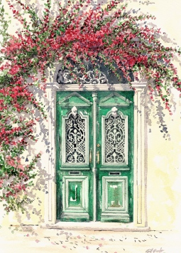 'Lagoa door' © Gill Goode
