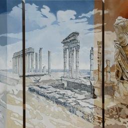 'Nikes ecstasy on both sides of Pergamom' © Ben Helmink