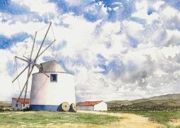 'Rogil Windmill' © Gill Goode