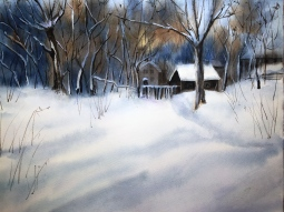 'The First Snow' © Tanya Lundmark