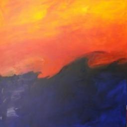 11__1m x 1m, no title, acrylic on canvas