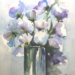 'Blue Flowers' © Tanya Lundmark
