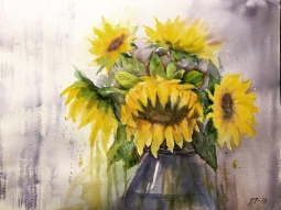 'Sunflowers' © Tanya Lundmark