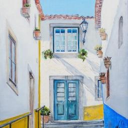 'Hidden doorway. Obidos' © Kateryna Ilchuk