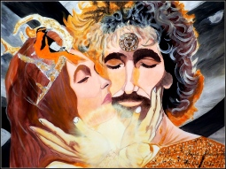 'Veles and Yaginya (Slavic Gods)' © Inna Hawker