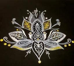 'Lotus Flower 1' © Art Sauvage