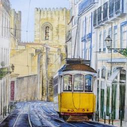 'Steady flow. Lisbon' © Kateryna Ilchuk