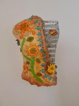 'Sunflowers -Butterflies 1' © Art Sauvage