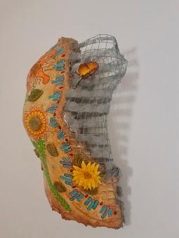 'Sunflowers -Butterflies 3' © Art Sauvage