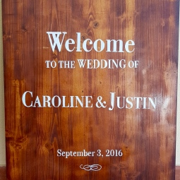 'wedding welcome sign 2' © Free Spirits Artworks