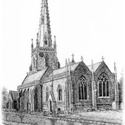 'All Saints Church Braunston' © Brian Oliver