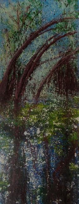 """benemola. oil on canvas"" © Lesley Goldie"