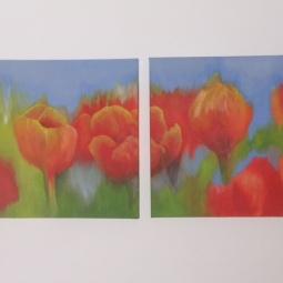 'Hollandse tulpen' © Mientje de Goeij-de Rooij