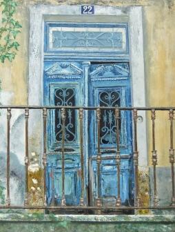 """number 22. oil on canvas"" © Lesley Goldie"