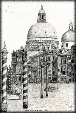 'Santa Maria Della Salute Venice' © Brian Oliver