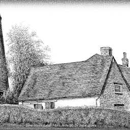 'The mill and mill house Braunston' © Brian Oliver