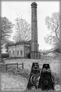 'The Old Pump House Braunston' © Brian Oliver