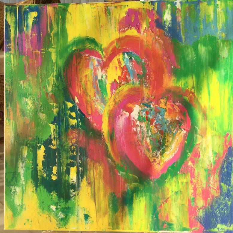 'Two Hearts beating as one' © Mientje de Goeij-de Rooij
