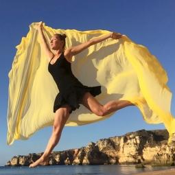 Dance in Nature in Algarve 3 © Alexandra Fadin