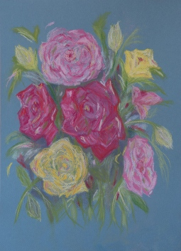 'Roses Bouquet' © Leanne Byrom