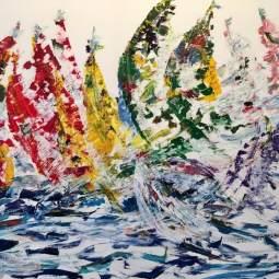 'Yachts in Lagos' © Osmond K Mairs