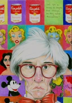 'Andy Warhol' © Alexandra Smith (Dubbo)