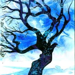 'Blue Tree' © Alexandra Smith (Dubbo)