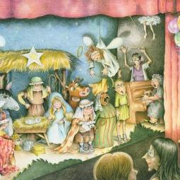 'Christmas Play' © Alexandra Smith (Dubbo)