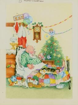 'Late Santa' © Alexandra Smith (Dubbo)