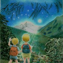'The Magic Mountain - Cover' © Alexandra Smith (Dubbo)
