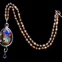 """""""Awakenings Necklace"""" © Sarah Fox"""