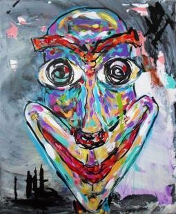'Creepy Clown' © Ana Nobre