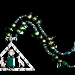 """""""Egypt Necklace"""" © Sarah Fox"""
