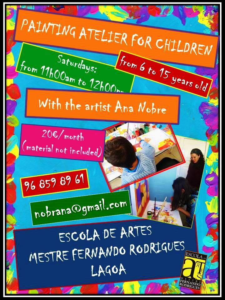 painting atelier for children