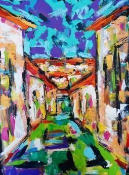 'Uma Rua em Tavira' © Ana Nobre
