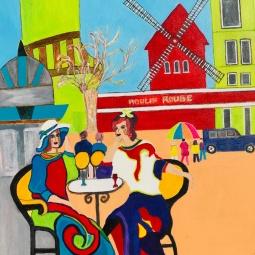 'Chat in Paris' © Anneke Verschoor Kuipers