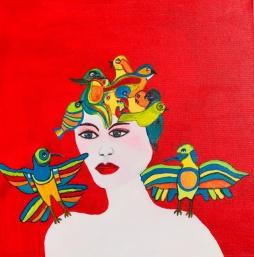 'My Lucky Birds' © Anneke Verschoor Kuipers