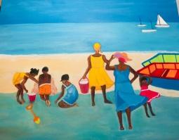 'Day at the Beach' © Anneke Verschoor Kuipers