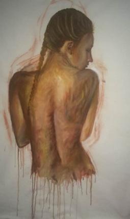 'Self portrait' © Rebecca Crystal Pereira