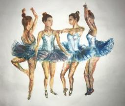 'series of dancers 1' © Rebecca Crystal Pereira