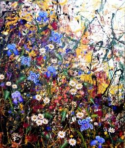 'Iris Field' © Angie Wright