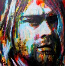 'Kurt Cobain' © Angie Wright
