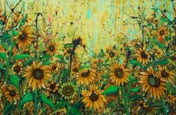 'Sunflowers' © Angie Wright