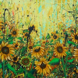 'Sunflowers' © Angie Wright