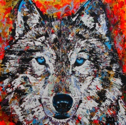 'The Wolf' © Angie Wright