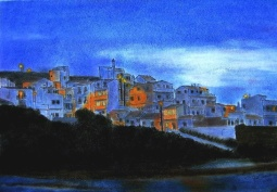 """An Almost Blue Night"",Odeceixe,Algarve, Portugal, 2014 © Inês Dourado"