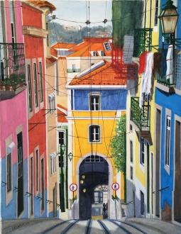 Bica Street, Lisbon, Portugal, 2018 © Inês Dourado