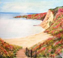 'Flowered Cliffs' © Kate Podmore