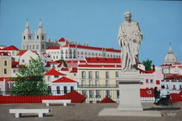"""Light, Color and History"", Alfama, Lisbon, 2016 © Inês Dourado"