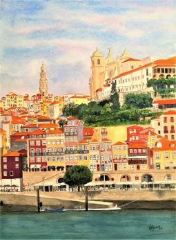 """Colors and History"", Oporto, Portugal, 2018 © Inês Dourado"